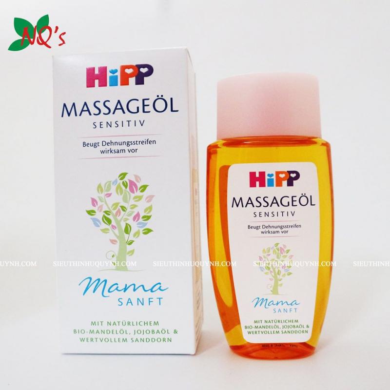 Dầu massage Hipp Mama chống rạn da
