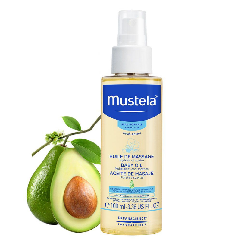 Dầu Massage Mustela Baby Oil