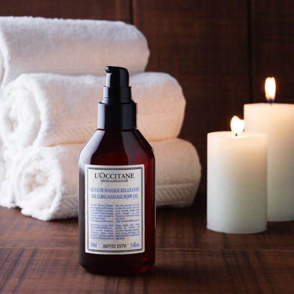 Dầu Massage Thư Giãn L'Occitane 100ml Aroma Relaxing Massage Oil
