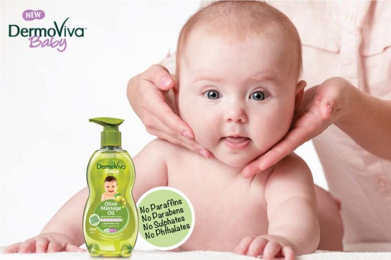 Dầu mát xa DermoViva chiết xuất ô liu đem đến nguồn dưỡng chất giúp làn da nhẹ dịu và mềm mại, đồng thời mang đến cảm giác thư giãn, tinh thần khoan khoái để bé đi  vào giấc ngủ dễ dàng hơn.
