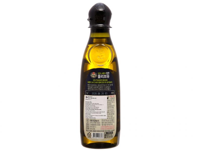 Dầu oliu Beksul Hàn Quốc 500ml