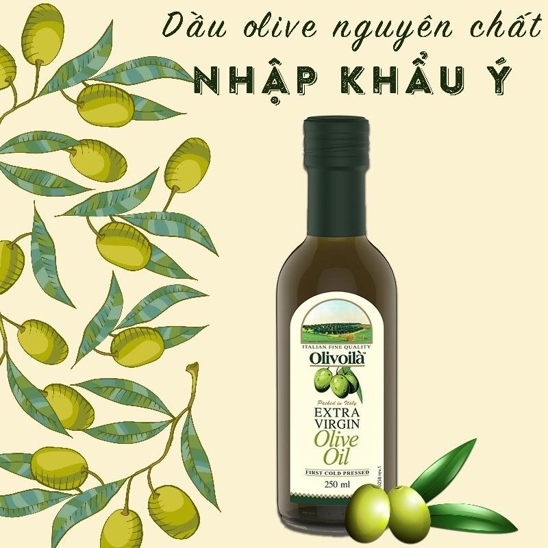 Dầu olive Extra Virgin Olivoilà