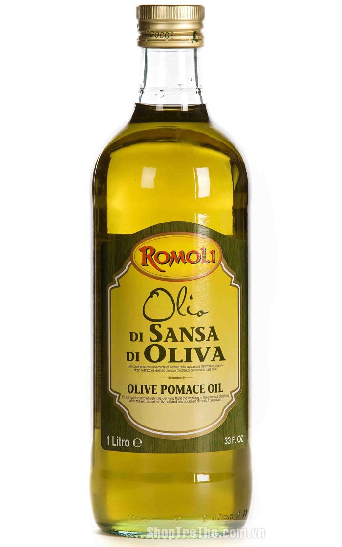 Dầu olive nguyên chất Romoli