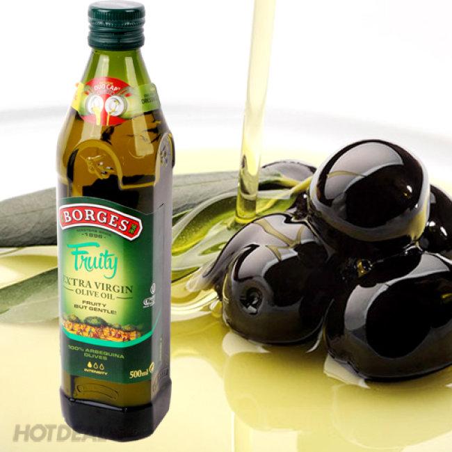 Dầu Olive Borges siêu nguyên chất