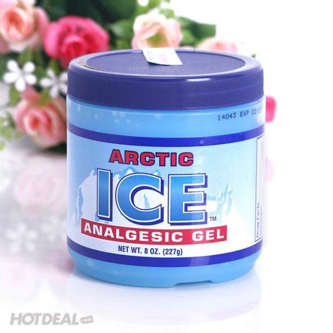Dầu lạnh xoa bóp arctic ice analgesic gel 227gr – USA