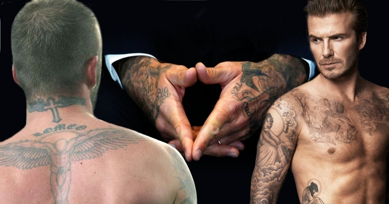 Những hình xăm trên cơ thể của Beckham
