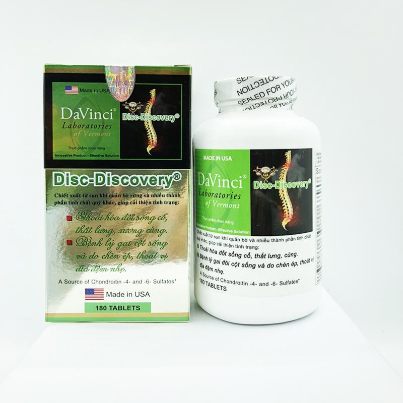 Davinci Disc Discovery giúp củng cố lại các mô liên kết xương khớp