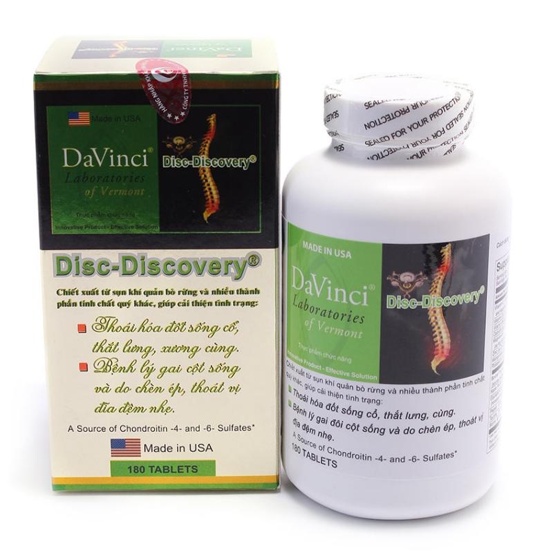 Davinci Disc Discovery hỗ trợ điều trị các bệnh lý đau lưng, gai cột sống do thoái hóa và thoát vị đĩa đệm
