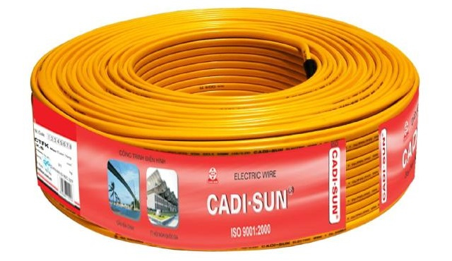 Sản Phẩm dây và cáp điện Cadi Sun