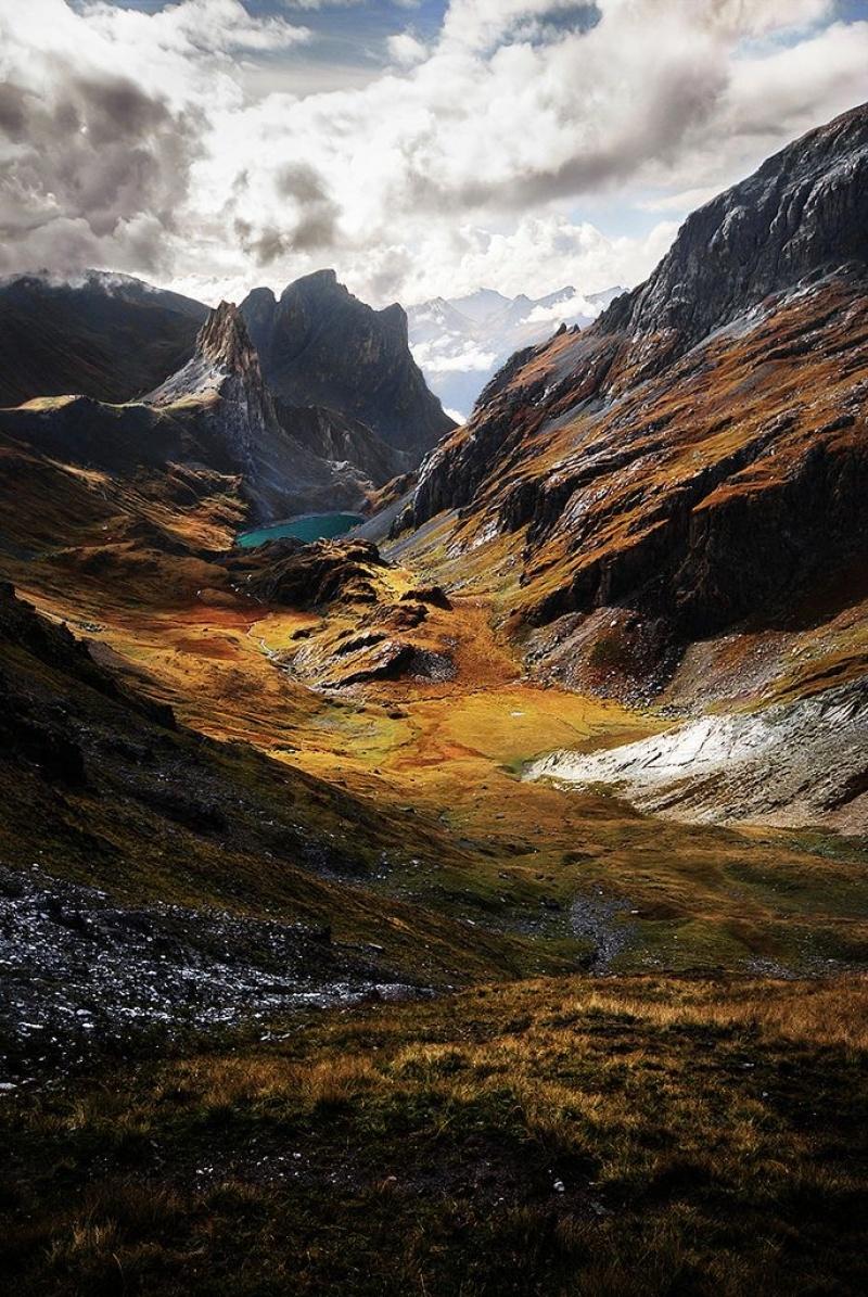 Dãy Alps hùng vĩ