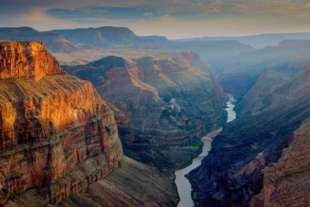 Dãy núi đá Grand Canyon- Hoa Kỳ