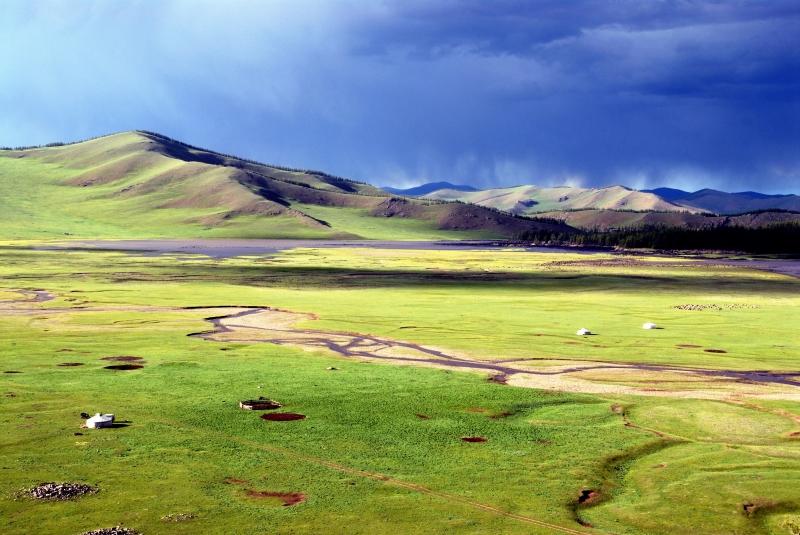 Dãy núi Khangai