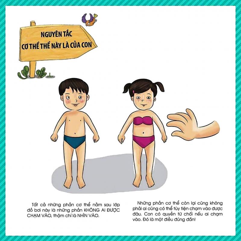 Dạy trẻ giao tiếp theo quy tắc 5 ngón tay