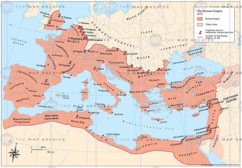 Lãnh thổ Đế chế La Mã