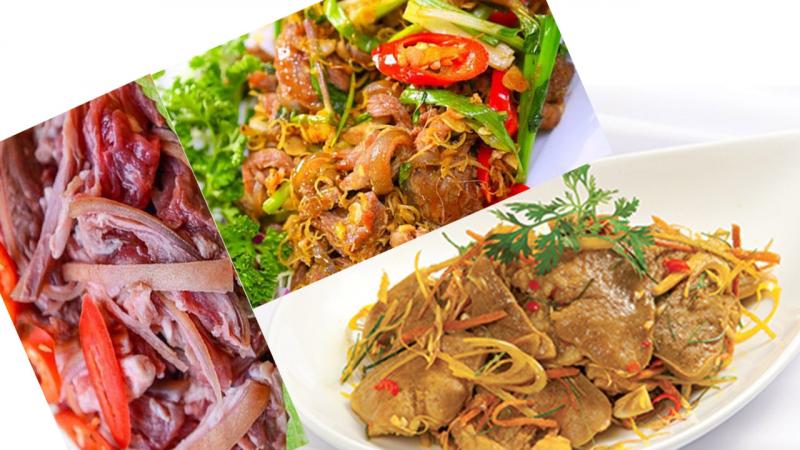 Dê Đức Cường là quán thịt dê nổi tiếng nhất Thái Nguyên