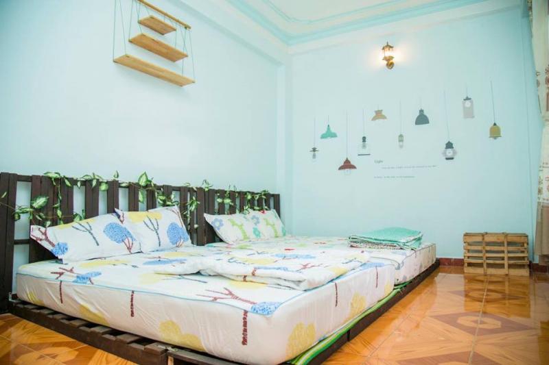 phòng 2 giường có sức chứa 2 - 5 người