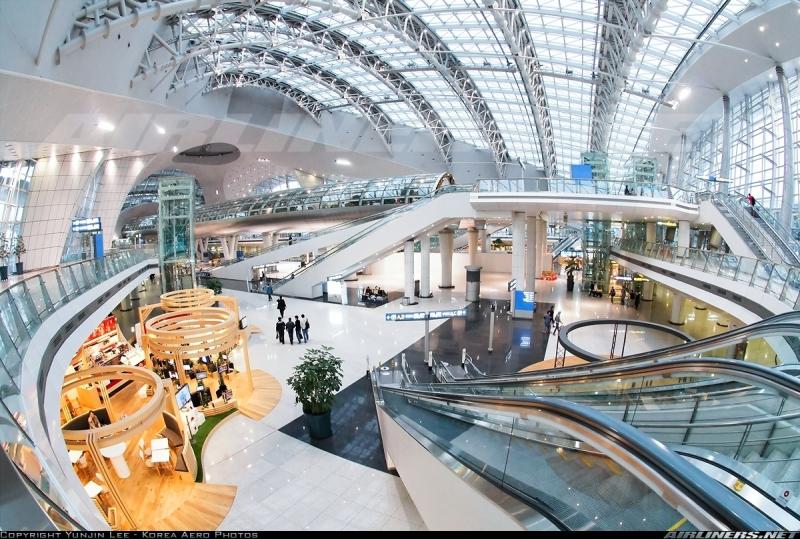 Vẻ đẹp sang trọng của sân bay Jeju - Nguồn: Sưu tầm