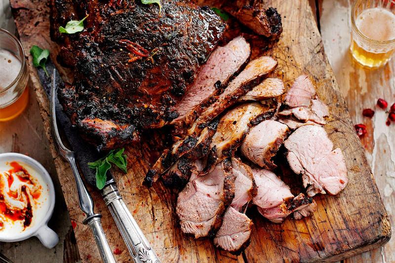 Thịt cừu nóng muối ớt thơm ngon tại quán