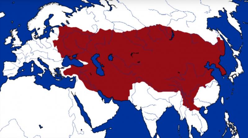 Lãnh thổ Vương quốc Mông Cổ