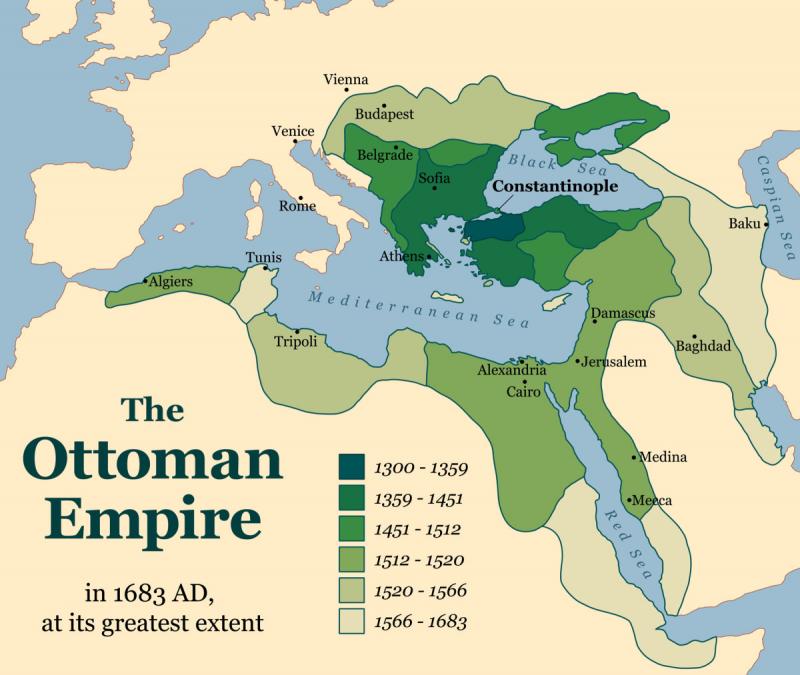 Lãnh thổ Đế quốc Ottoman
