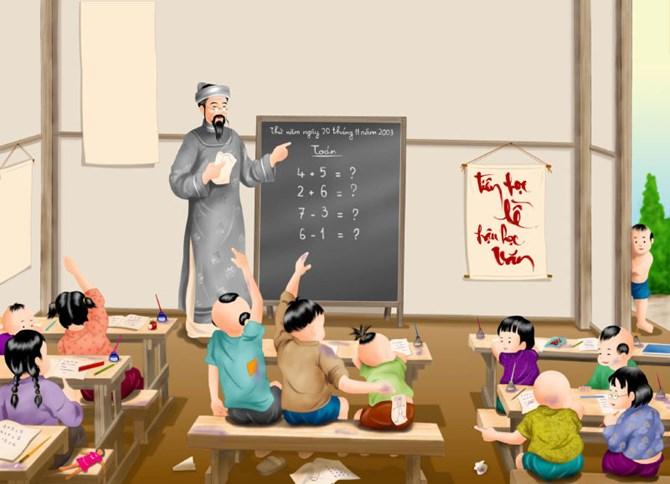Lớp học của thầy đồ
