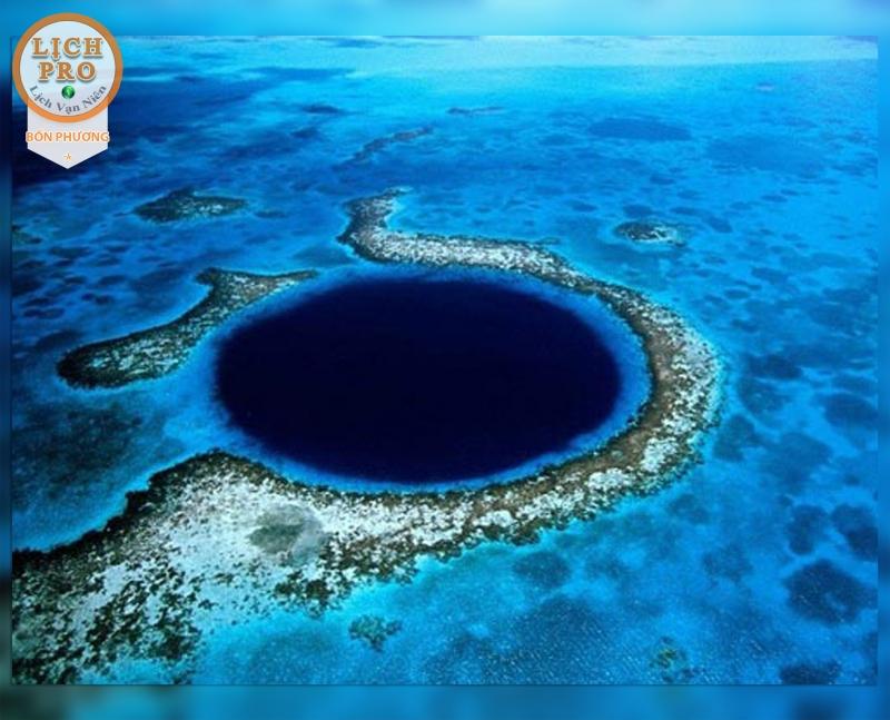 Dean's Blue là hố nước biển sâu nhất hành tinh, với độ sâu 202m