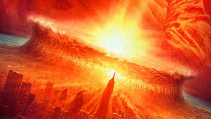 Một thiên thạch rơi vào Bắc Đại Tây Dương gây ra cơn đại sóng thần cao 400 m.