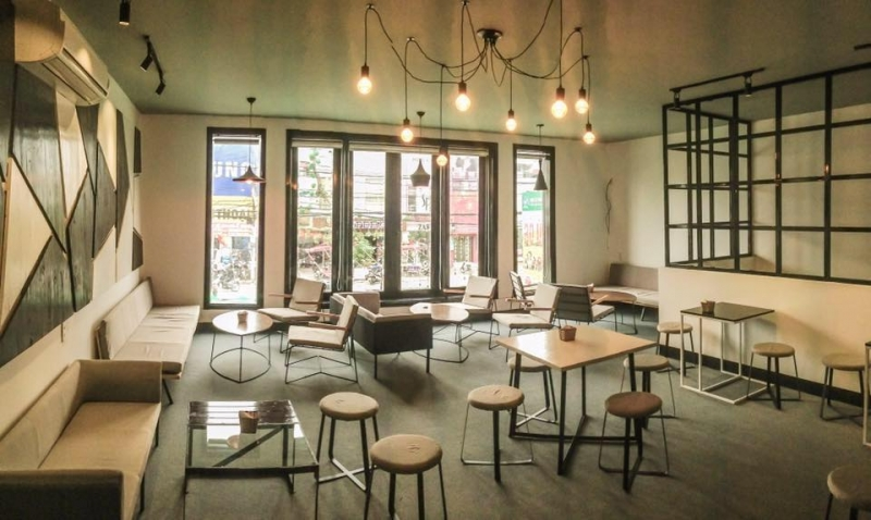 Không gian tại Délices Café