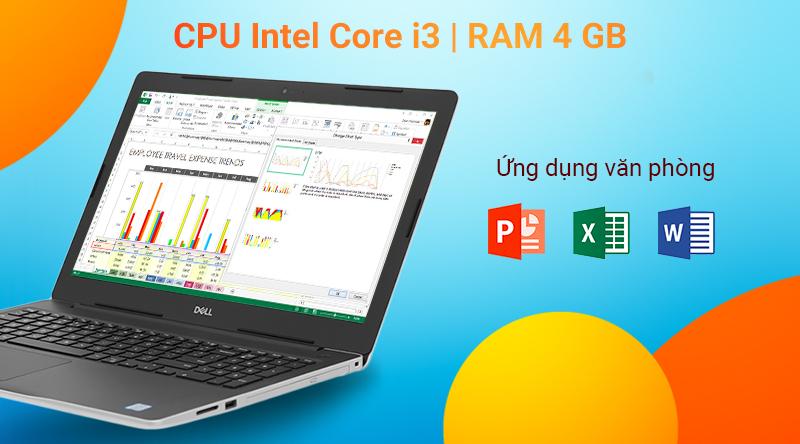 Laptop Dell Inspiron 3581 i3 7020U/4GB/1TB/Win10 (P75F005N81A)