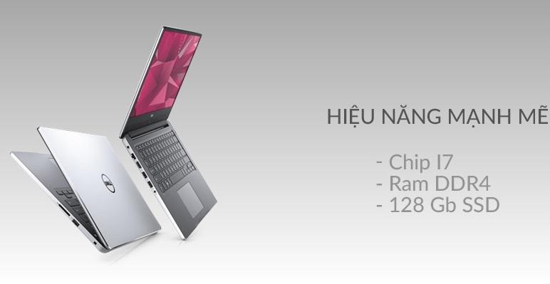 Laptop Dell Inspiron 7460 có cấu hình rất mạnh