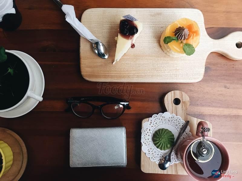 Delycious By Cent có thưc đơn rất phong phú với các loại bánh và đồ uống