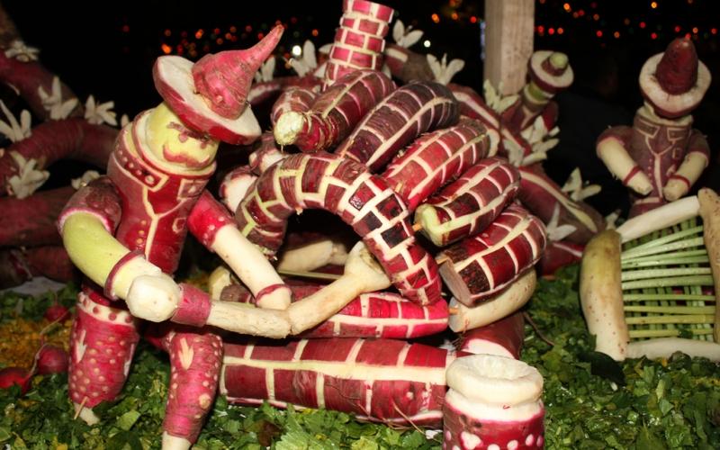 Lễ hội củ cải đêm Giáng sinh tại Mexico