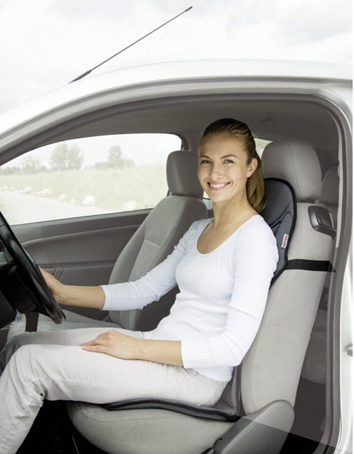Đệm massage Beurer MG155 có thể sử dụng cho ghế ngồi ô tô hiệu quả