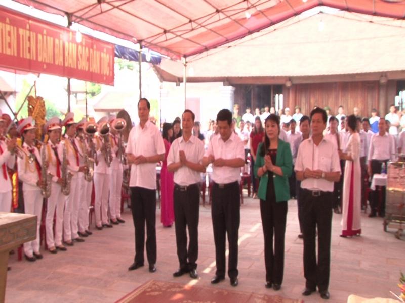 Lãnh đạo tỉnh Thái Bình dâng hương tưởng niệm 715 năm ngày mất Hưng Đạo Đại Vương Trần Quốc Tuấn