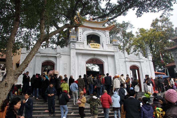 Bắc Lệ là ngôi đền nổi tiếng linh thiêng