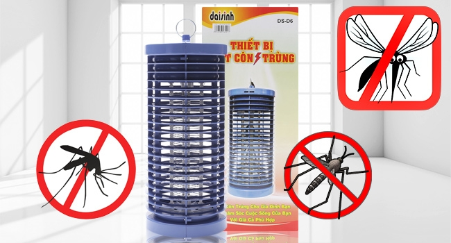 Là thiết bị thông minh, bắt muỗi hiệu quả nhất hiện nay