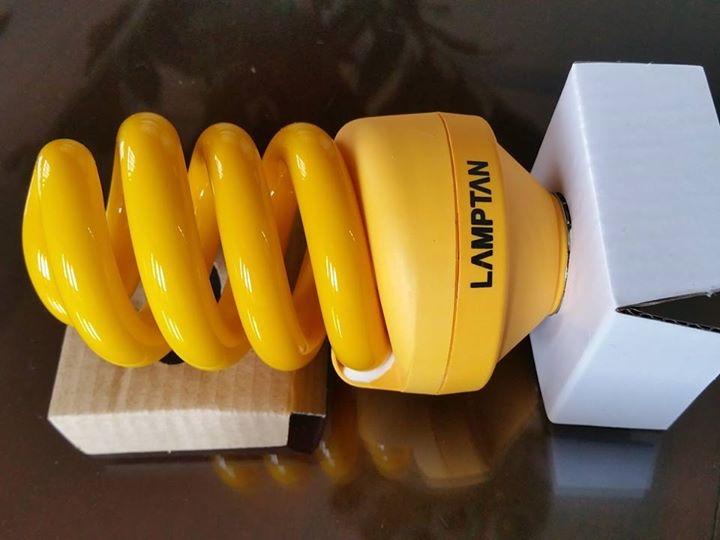 Sử dụng thay thế bóng đèn bình thường