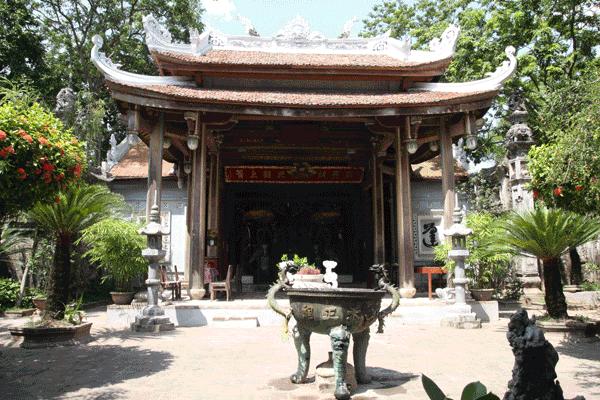 Nét cổ xưa vẫn được lưu giữ ở chùa