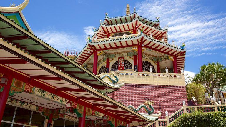 Kiến trúc độc đáo của Đền Đạo giáo