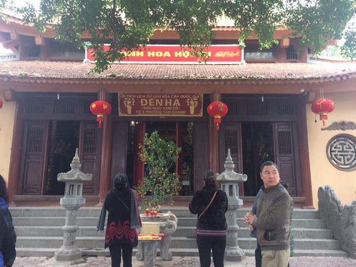 Đền Hạ, Tuyên Quang