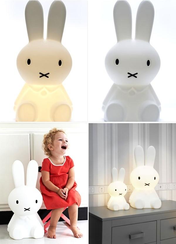 Những chiếc đèn ngủ dễ thương sẽ giúp bé không còn sợ bóng tối
