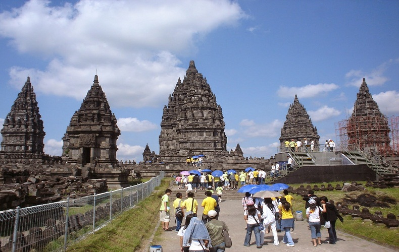 Đền Prambanan được UNESCO công nhận là Di sản văn hóa thế giới.