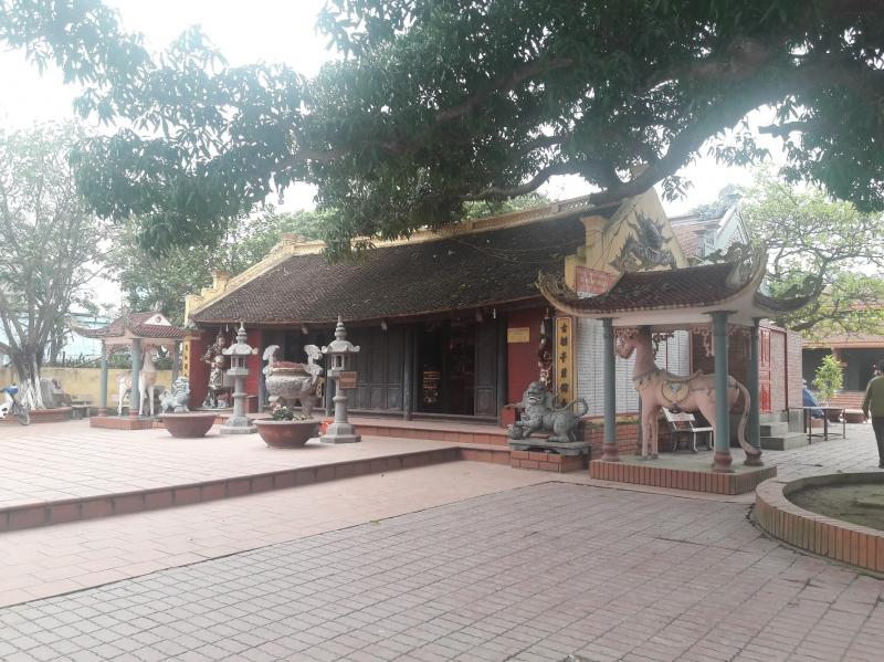 Một góc Đền Quan-Thái Bình