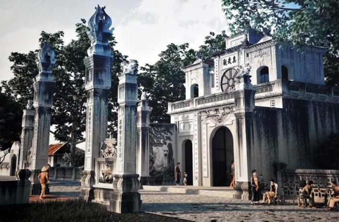 Đền Quán Thánh - Trần Bắc Hoàng thành Thăng Long