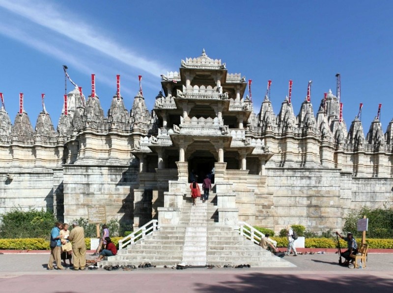 Đền Ranakpur ở miền Tây Ấn Độ.