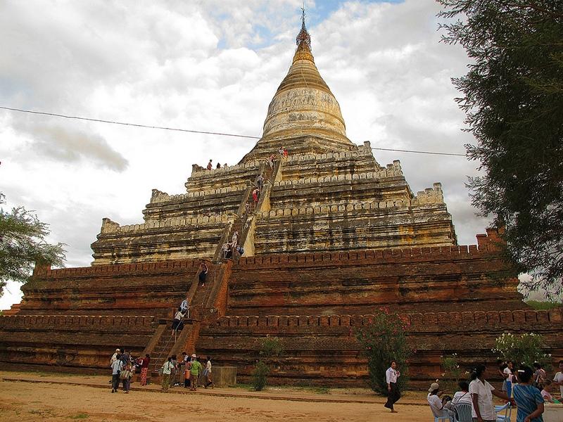 Vẻ đẹp của đền Shwesandaw