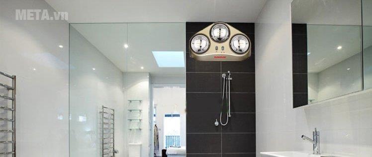 Đèn sưởi nhà tắm Sunhouse SHD3823 tốc độ sưởi ấm cực nhanh