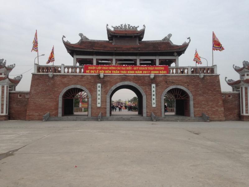 Di tích Đền Trần-Thái Bình