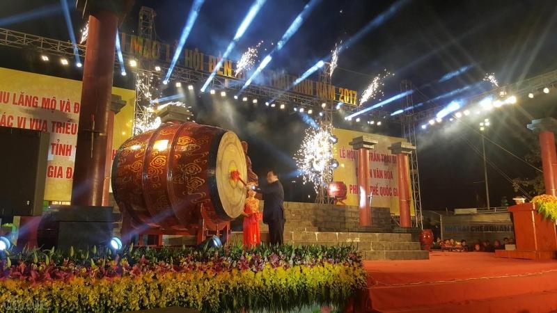 Lễ khai mạc Ngày hội Đền Trần-Thái Bình 2017
