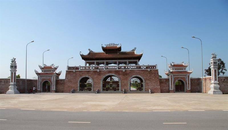 Đền Trần Thái Bình.